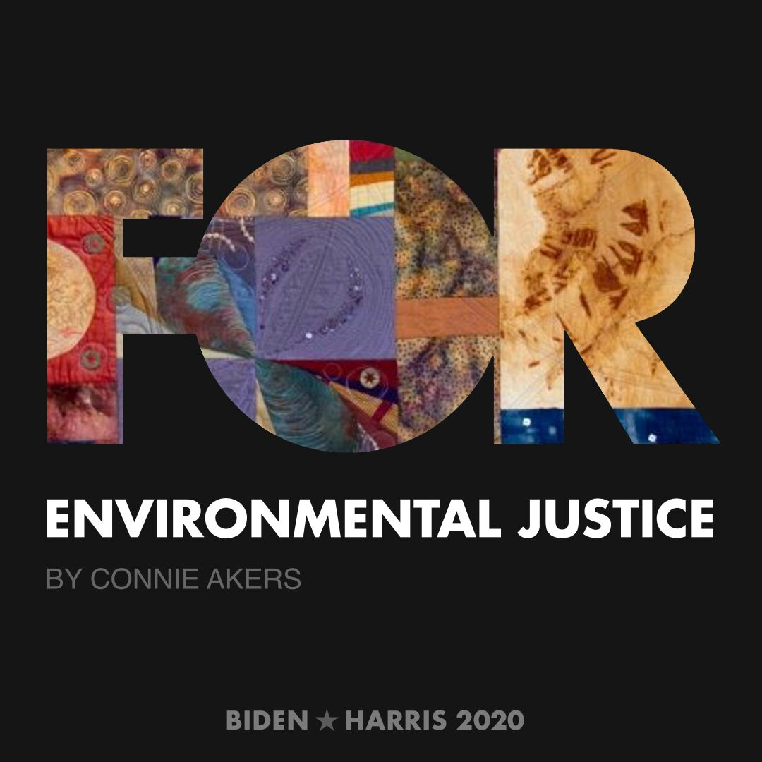 CreativesForBiden.org - Environmental Justice artwork by Connie Akers