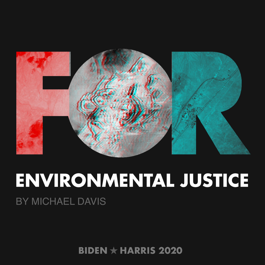 CreativesForBiden.org - Environmental Justice artwork by Michael Davis