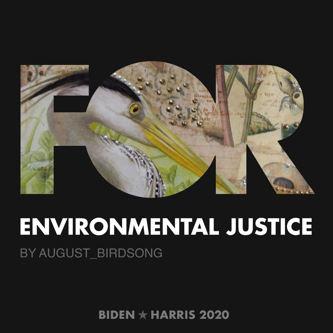 CreativesForBiden.org - Environmental Justice artwork by August_Birdsong