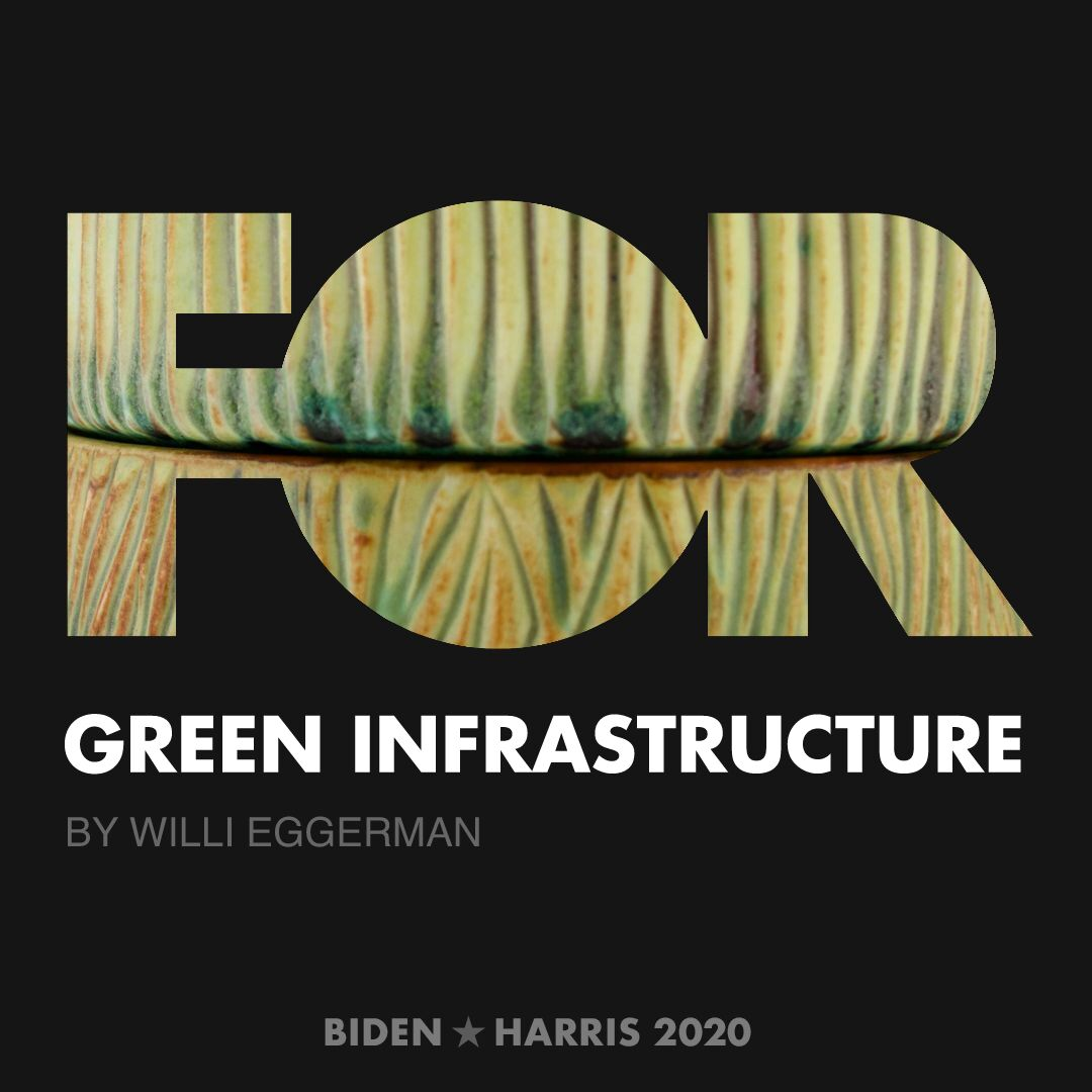 CreativesForBiden.org - Green Infrastructure artwork by Willi Eggerman