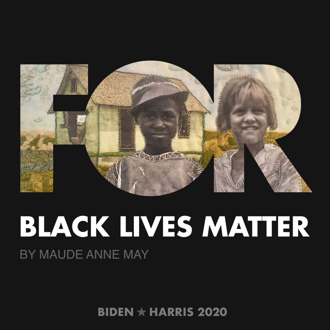 CreativesForBiden.org - Black Lives Matter artwork by Maude Anne May