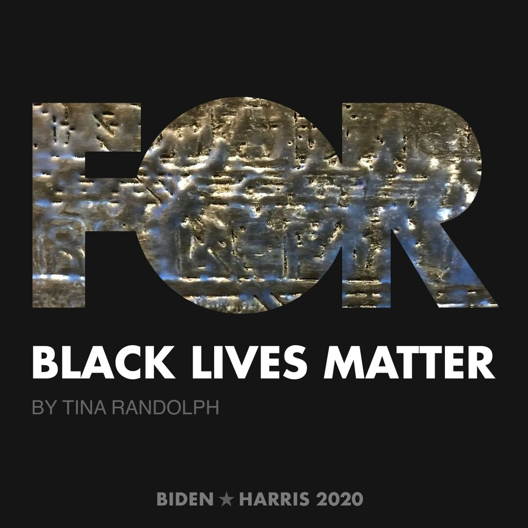 CreativesForBiden.org - Black Lives Matter artwork by Tina Randolph