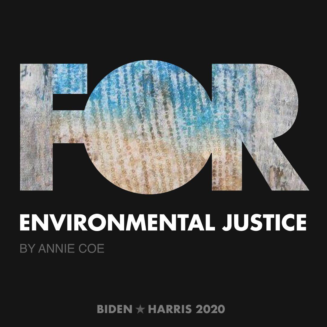 CreativesForBiden.org - Environmental Justice artwork by Annie Coe