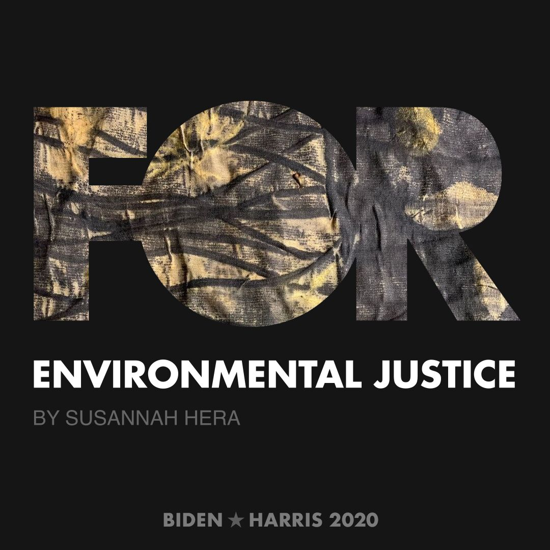 CreativesForBiden.org - Environmental Justice artwork by Susannah Hera