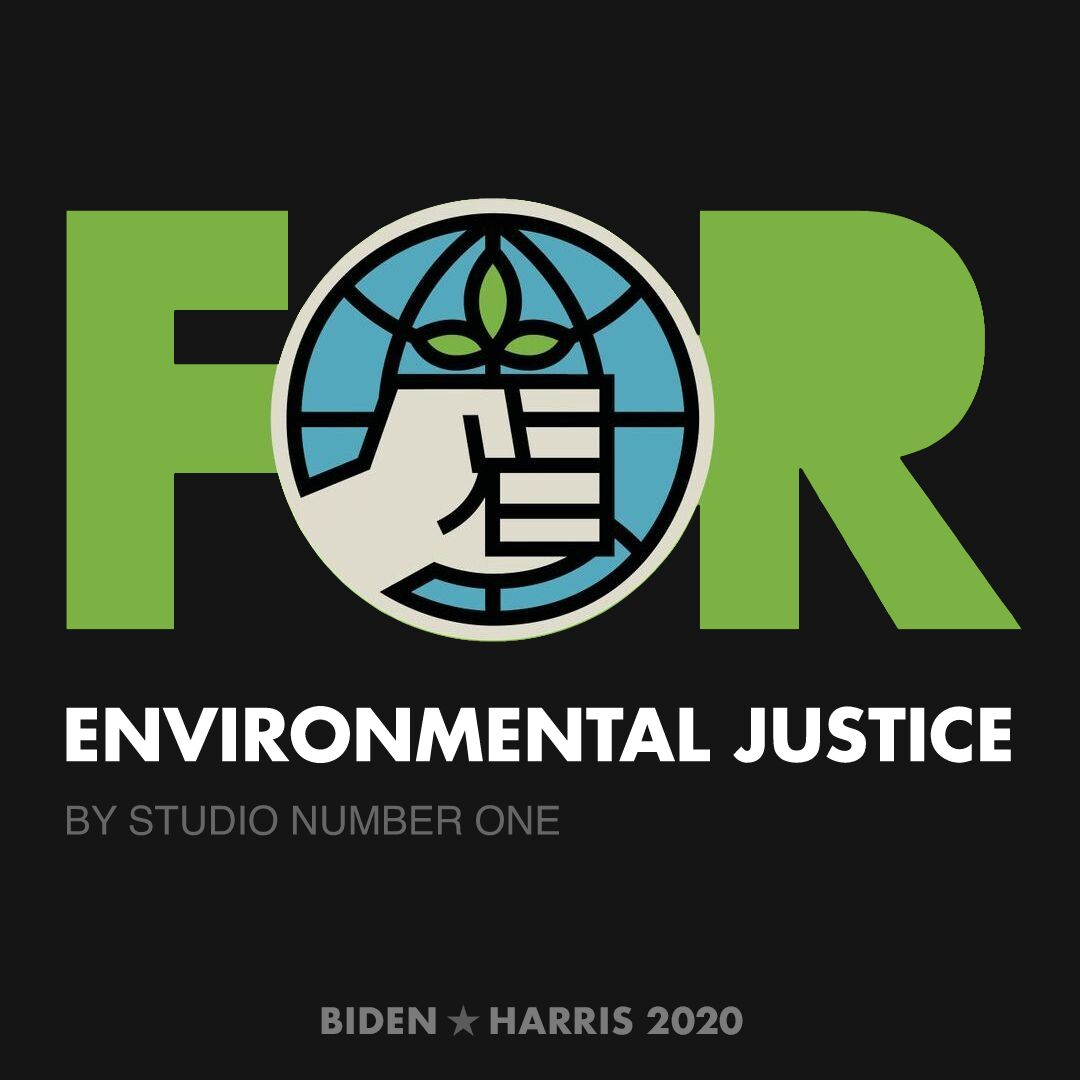 CreativesForBiden.org - Environmental Justice artwork by Studio Number One