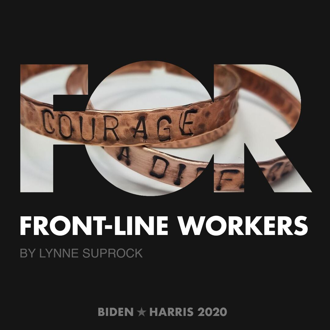 CreativesForBiden.org - Front-Line Workers artwork by Lynne Suprock