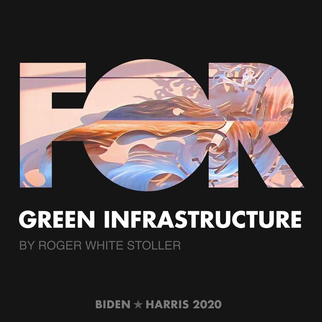 CreativesForBiden.org - Green Infrastructure artwork by Roger White stoller