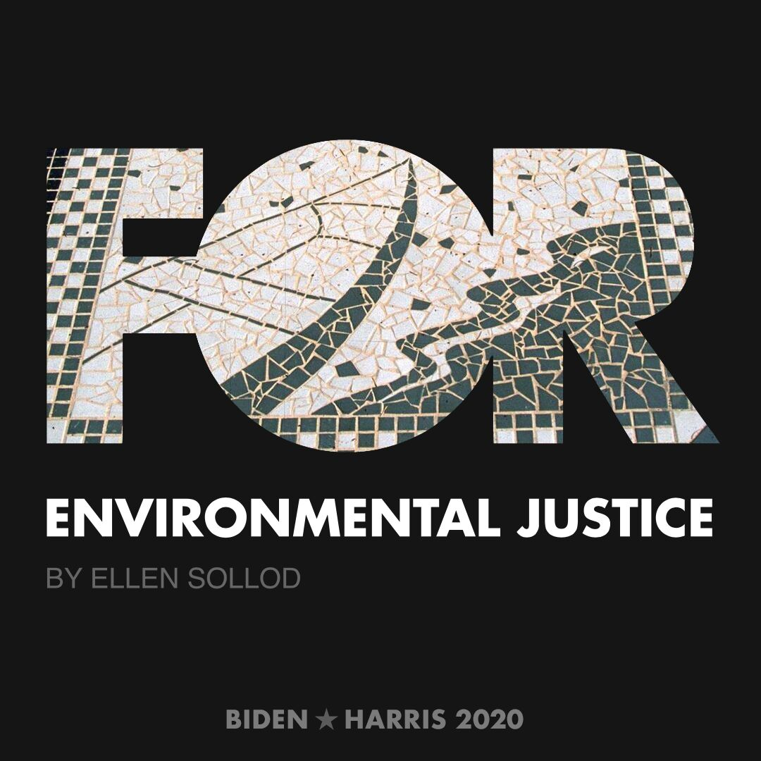 CreativesForBiden.org - Environmental Justice artwork by Ellen Sollod