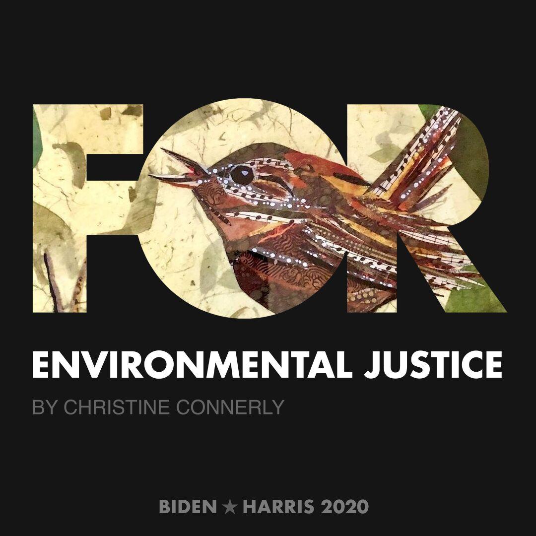 CreativesForBiden.org - Environmental Justice artwork by Christine Connerly