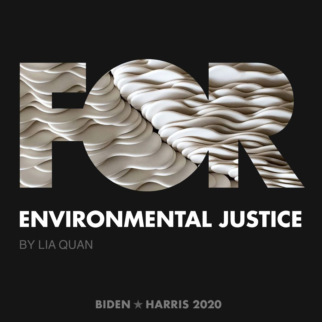 CreativesForBiden.org - Environmental Justice artwork by Lia Quan